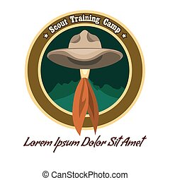 Scout camp logo