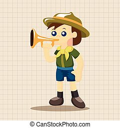 scout theme elements