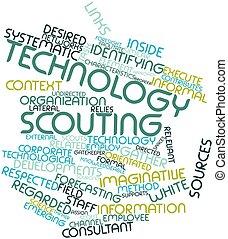 scoutisme, technologie