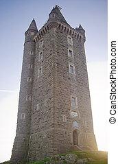 scrabo, toren, ierland, magisch, noordelijk