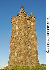 scrabo, toren, noord-ierland
