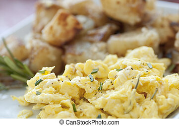 Scrambled Egg Breakfast