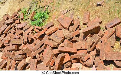 scrap bricks