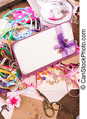 Scrap details - Scrapbooking craft materials for decorating...