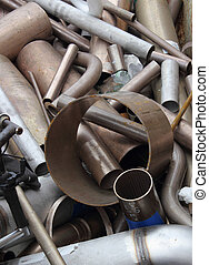 Scrap Metal - a collection of scrap metal ready for...