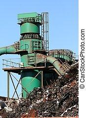 Scrap metal factory