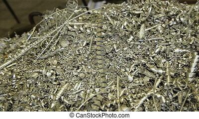 Scrap Metal Shavings - Metallic Shavings and Lathe Metal...
