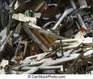 Scrap yard - Scrap Metal and household waste at recycling...