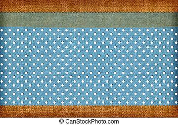 scrapbog, photobook, fabric, ornamental, baggrund., begreb