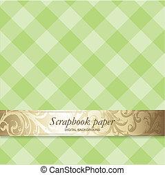Scrapbook design element - Scrapbook background