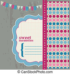 Scrapbook Design Elements - Beautiful Page for your...