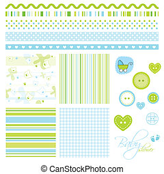 Scrapbook elements - Decorative design elements