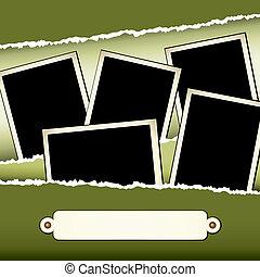 Scrapbook Page - A 12x12 scrapbook template