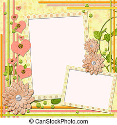 scrapbook page for two photos