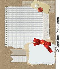 scrapbooking, 크리스마스, 디자인