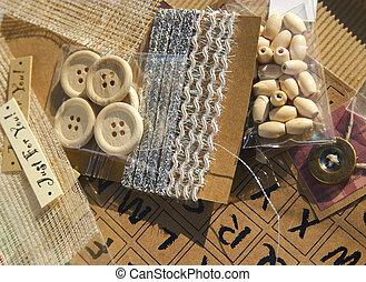 scrapbooking crafting items