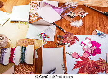Scrapbooking elements and accessories