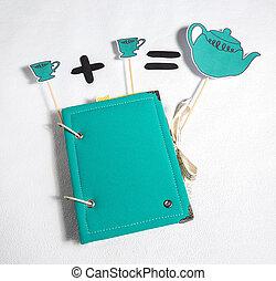 scrapbooking, festivo, accesorios