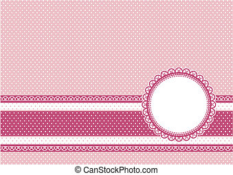 scrapbooking for girl background - cute scrapbooking vector...