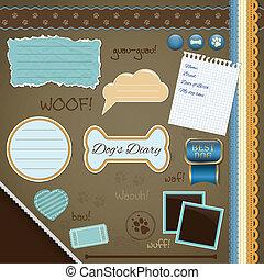 Scrapbooking Set: My Dog's Diary