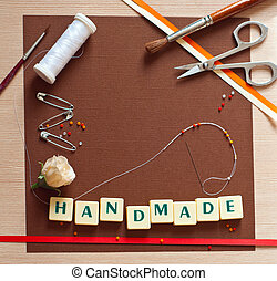 Scrapbooking - Scrap booking set of materials ? textured...
