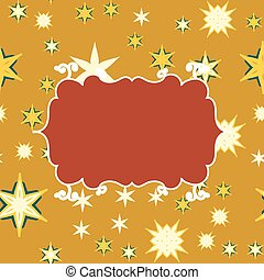 Scrapbooking vintage template with place for text for invitation, greeting, happy birthday, label, postcard, baby or child posrcard, children pattern, clip art, holiday, gift and etc.