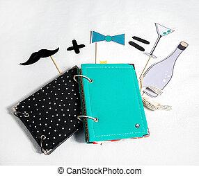 scrapbooking, wedding accessories