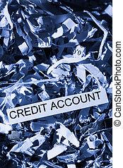 scraps credit account