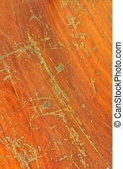 Scratch on wood background