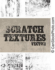 Scratch textures - 5 differents scratched textures for...