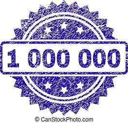 Scratched 1 000 000 Stamp Seal