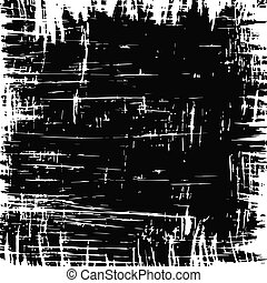 scratched background - Abstract torn scratched black ...