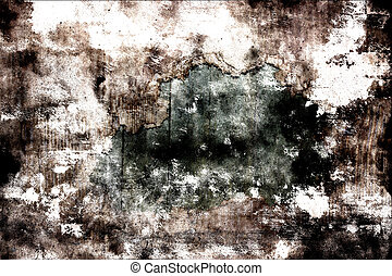 Scratched brown wall background