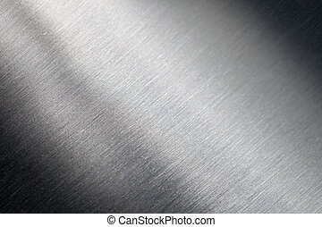 Scratched metal surface - Background of the scratched metal ...