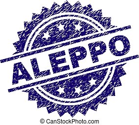 Scratched Textured ALEPPO Stamp Seal