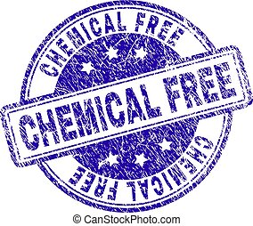 Scratched Textured CHEMICAL FREE Stamp Seal