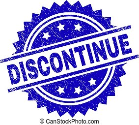 Scratched Textured DISCONTINUE Stamp Seal - DISCONTINUE...