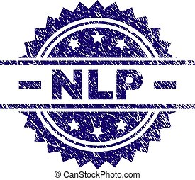 Scratched Textured NLP Stamp Seal