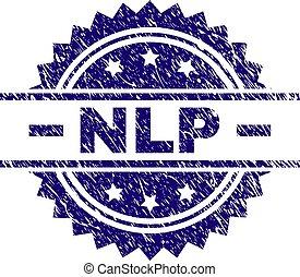 Scratched Textured NLP Stamp Seal