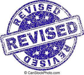 Scratched Textured REVISED Stamp Seal - REVISED stamp seal ...