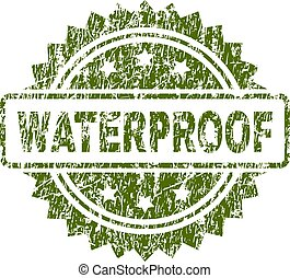 Scratched Textured WATERPROOF Stamp Seal