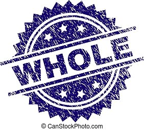 Scratched Textured WHOLE Stamp Seal
