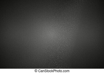 Scratches black metallic wall, abstract texture background