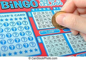 scratching, , лотерея, билет
