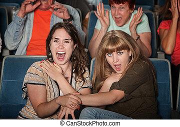 Screaming Friends in Theater