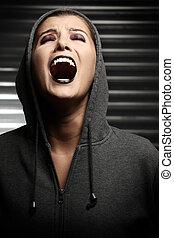 Screaming vampire