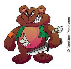 Screamy Bear