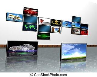 screen - LCD TV panels