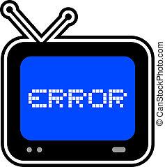 Screen error
