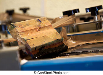screen printing device